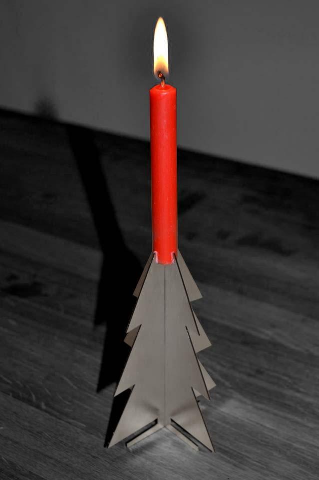 Weihnachtsbaum/Kerzenleuchter