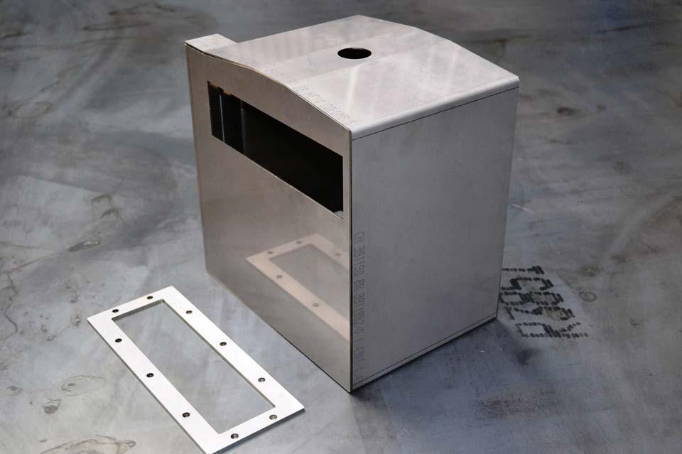 Behälter für die Erzeugung von Wasserdampf